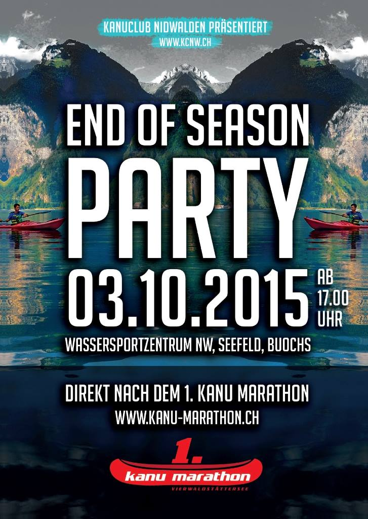 Flyer End of Season Party
