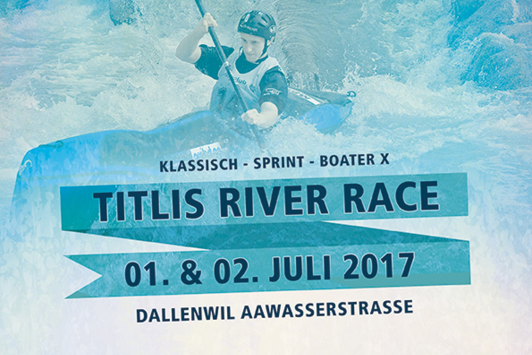 Flyer Titlis River Race 2007